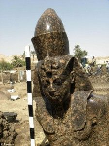 King Amenhotep III. Photo Reuters.