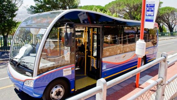 Electric buses in Cape Town
