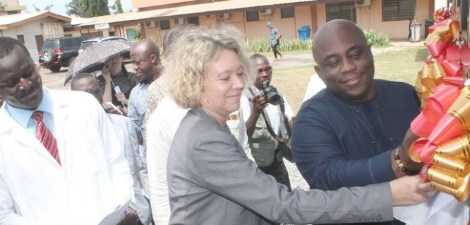 Accra opens infectious disease isolation centre