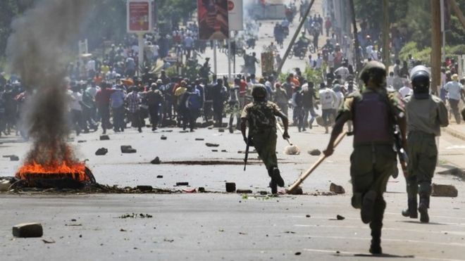 Violent opposition protests continue in Kenya