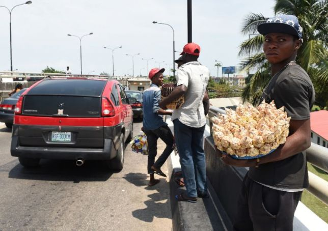 Lagos enforces ban on street selling