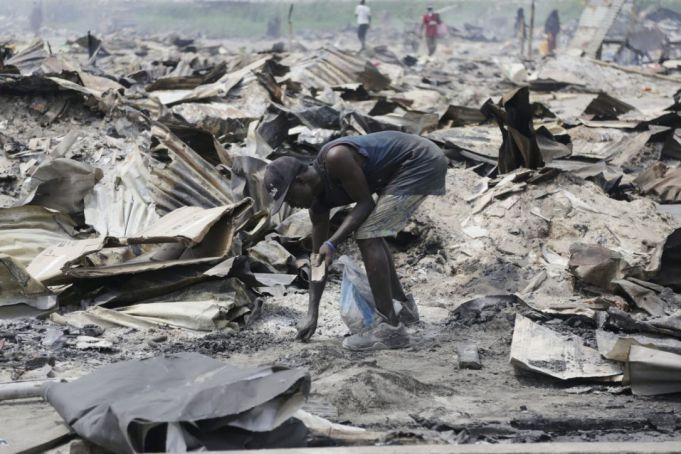 Lagos slum demolitions leave thousands homeless