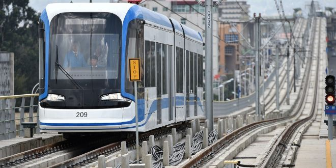 E-tickets for Addis Ababa Light Rail Transit
