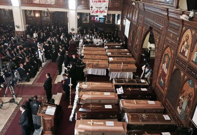 Egypt in mourning over Cairo church bombing
