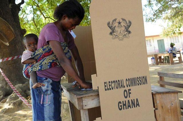 Ghana's presidential election on 7 December