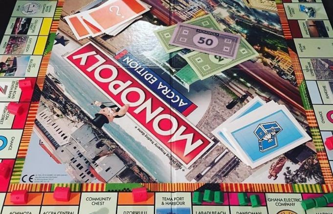 Accra edition of Monopoly