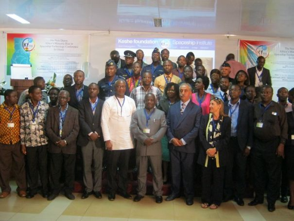 Accra to open spaceship centre