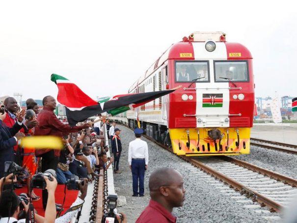 New Nairobi-Mombasa railway opens