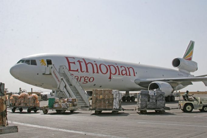 New cargo terminal at Addis Ababa airport