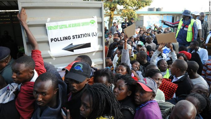 Tensions high as Kenya prepares for presidential re-election