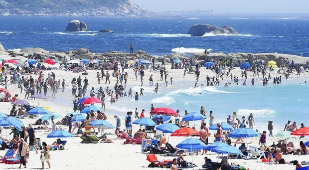 Cape Town tourists face water rations