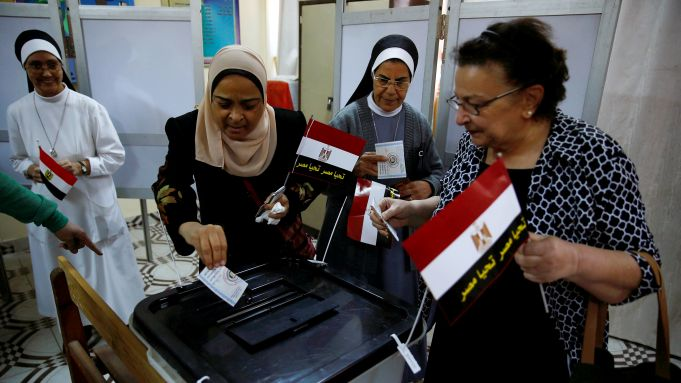 Presidential election underway in Egypt