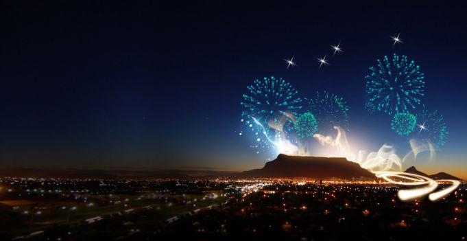 New Year's Eve Celebrations in the Cape Town