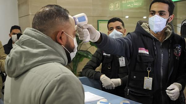 Egypt confirms first coronavirus case
