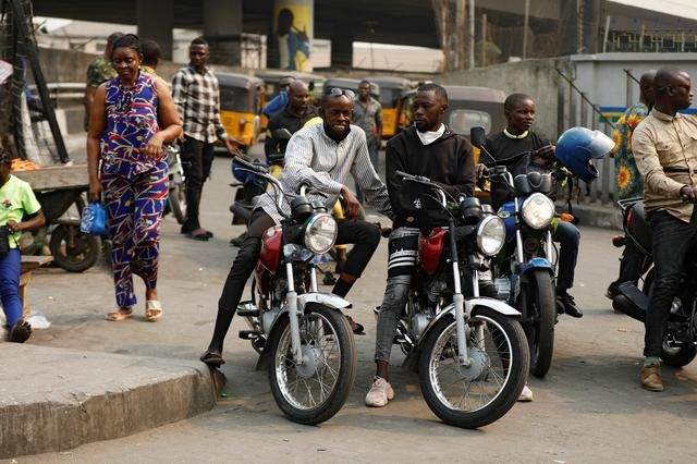 Lagos bans popular Okada taxis