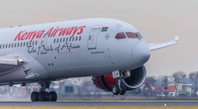 Kenya Airways flies food to London