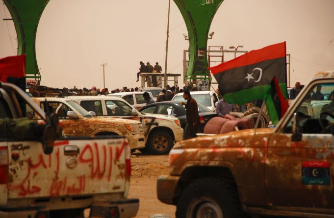 Will Libya be divided to East and West Libya?