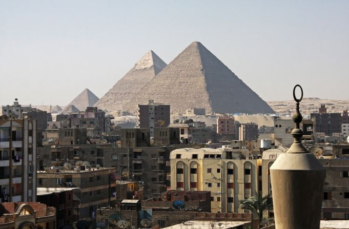 Egypt's new highways draw ire as they pass through the pyramid plateau