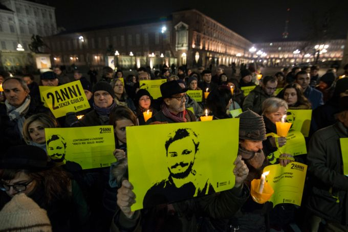 Italy charges Egyptian Security Agents for the death of Giulio Regeni