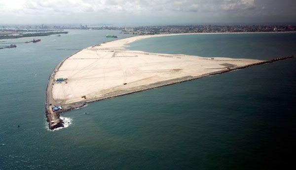 Satellite photo of Eko Atlantic in Lagos - image 2