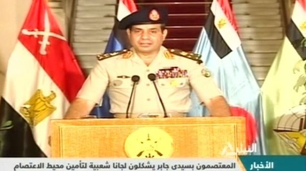 Egyptian army overthrows president - image 1