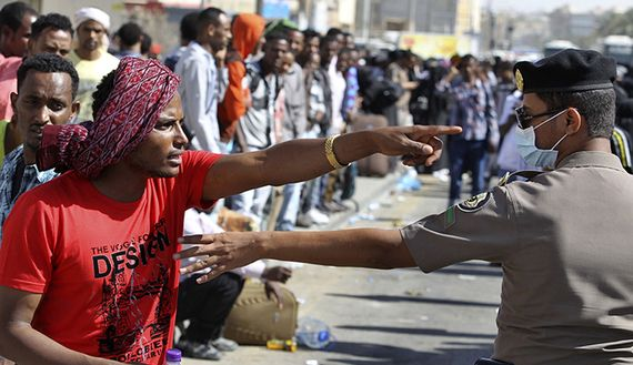 Ethiopian migrants in Saudi Arabia returned to Addis Ababa - image 2
