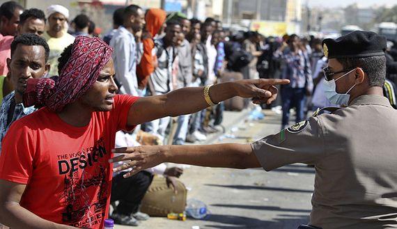 Ethiopian migrants in Saudi Arabia returned to Addis Ababa - image 2