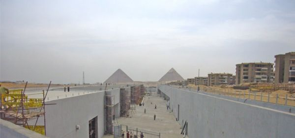 New Cairo museum under construction - image 2