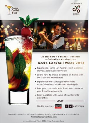 Accra Cocktail week - image 1