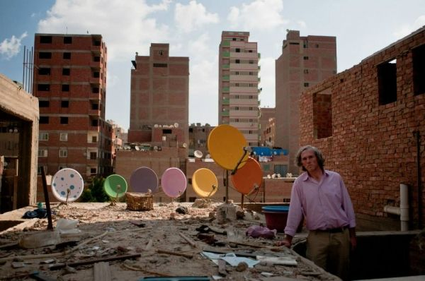 Cairo's painted satellite dishes - image 1
