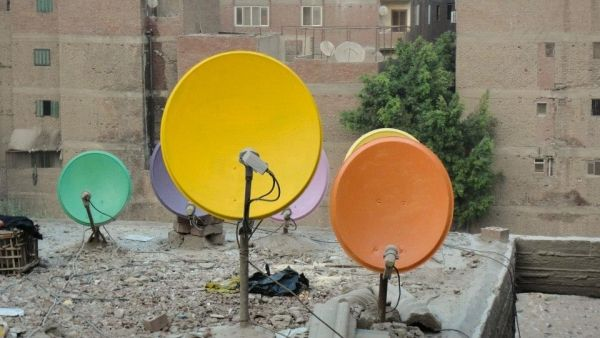 Cairo's painted satellite dishes - image 3