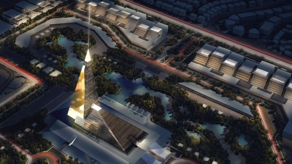 Cairo builds pyramid skyscraper - image 1