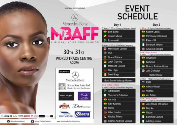 Mercedes Benz African Fashion Accra - image 2