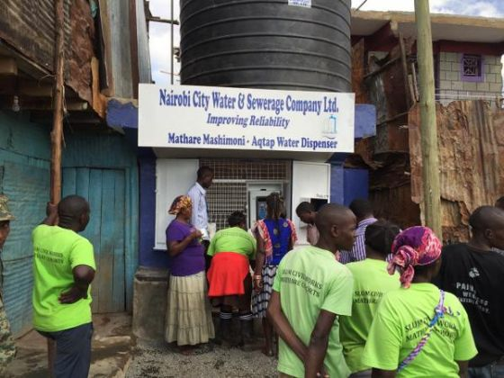 Nairobi water vending machines - image 2