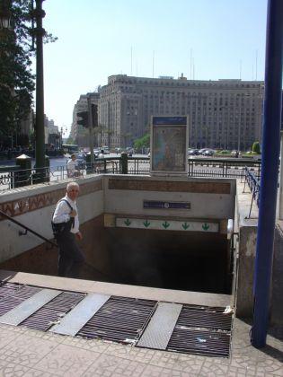Cairo reopens Sadat metro station - image 4