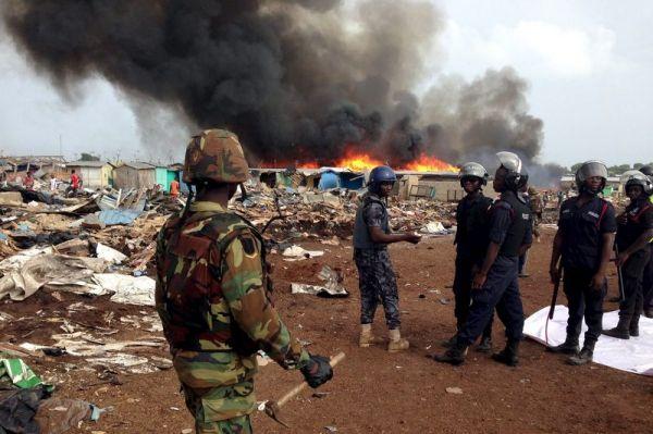 Authorities demolish Accra slum to prevent floods - image 3