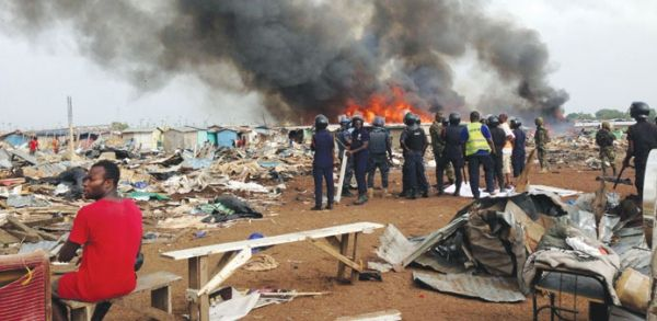 Authorities demolish Accra slum to prevent floods - image 2