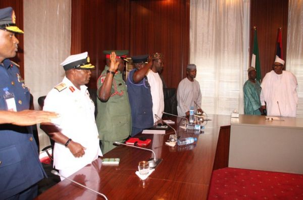 Nigeria's president Buhari cleans up military - image 1
