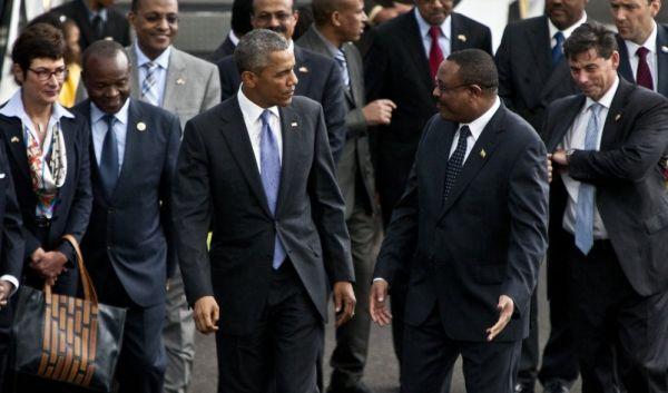Obama arrives in Addis Ababa - image 3
