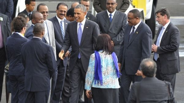 Obama arrives in Addis Ababa - image 2