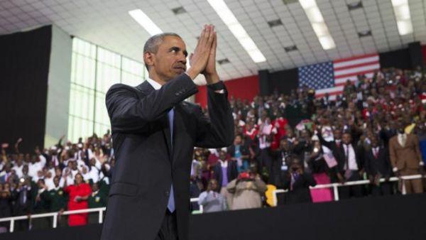 Obama arrives in Addis Ababa - image 4