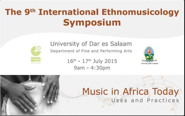 Ethnomusic symposium Dar es Salaam - image 1