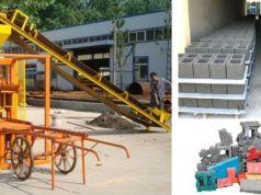 Automatic block/brick making machine VB4-26 for sale