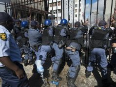 Student protests across South Africa