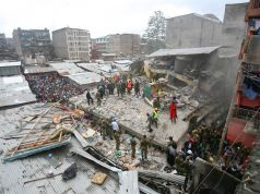 Nairobi building collapse leads to demolitions
