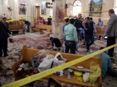 Dozens killed in Egypt church bombings