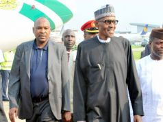 Nigerian president returns to Nigeria