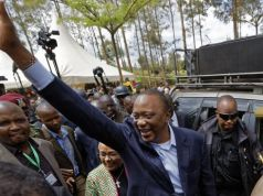 Kenyatta wins Kenyan presidential re-election