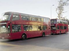 Double-decker buses for Cairo