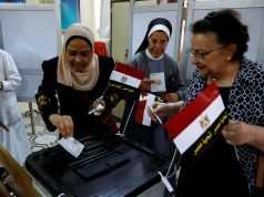 Presidential election underway in Egypt